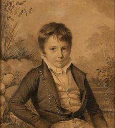 Image: painting of a young Regency-era boy, shared via LisaBerne.com