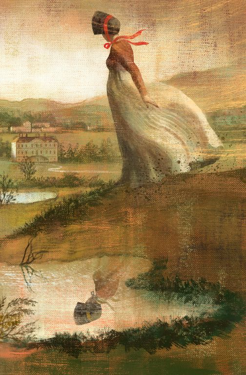 Illustration: Pride and Prejudice by Anna and Elena Balbusso, shared via LisaBerne.com