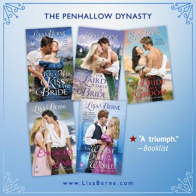 Graphic: The Penhallow Dynasty by Lisa Berne (Avon Books)
