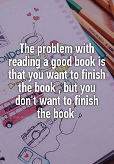 "Graphic: ""The problem with reading a good book"""