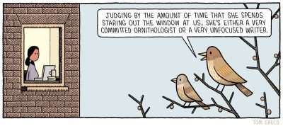 """Comic: """"Judging by the amount of time..."""""""
