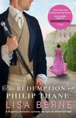 Cover image: The Redemption of Philip Thane by Lisa Berne - Pan Macmillan edition