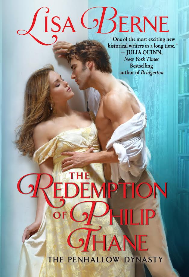 Cover image: THE REDEMPTION OF PHILIP THANE by Lisa Berne (Avon Books)